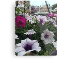 Main Street Blooms Metal Print
