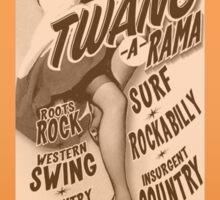 Miss Heather's Twang-a-Rama Sticker