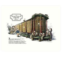 Babbage's Analytical Engine Art Print