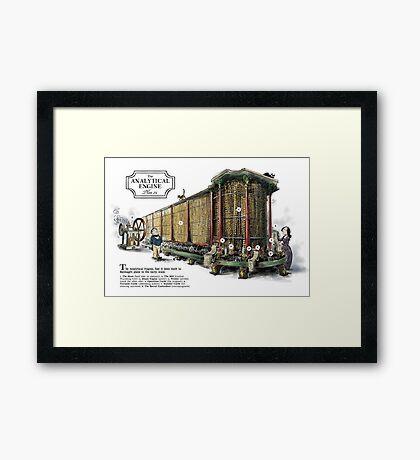 Babbage's Analytical Engine Framed Print