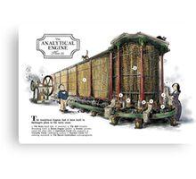 Babbage's Analytical Engine Canvas Print