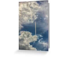 flying by Greeting Card