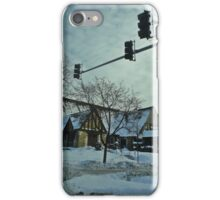 Winter Time Scene iPhone Case/Skin