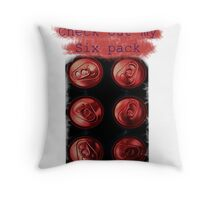 Check out my six pack Throw Pillow