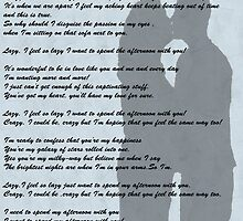 Lazy Lyrics.....So In Love by Roy Charles Abbott