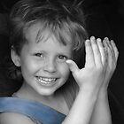 Because I love him... (Peek-a-boo) by Linda Costello Hinchey