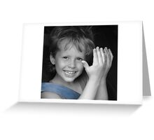 Because I love him... (Peek-a-boo) Greeting Card