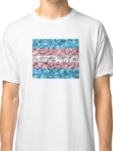 Abstract Transgender Flag Classic T-Shirt