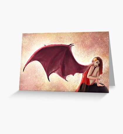 Born in Fire Greeting Card