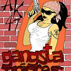 Gangsta Princess by strooitje