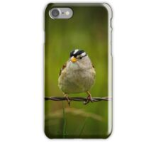 """""""ON A WIRE"""" iPhone Case/Skin"""