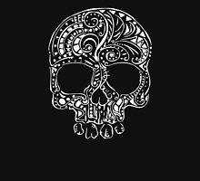 Tribal tattoo style gothic skull  Unisex T-Shirt