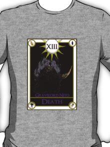 Gravelord Nito Death Tarot Card T-Shirt