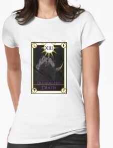 Gravelord Nito Death Tarot Card Womens Fitted T-Shirt