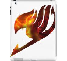 Fairy tail logo, natsu's rage iPad Case/Skin