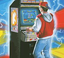 Klax gamer. Amazing arcade cabinet! by 2monthsoff