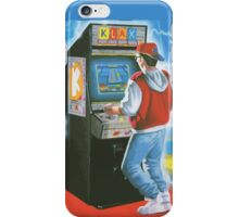Klax gamer. Amazing arcade cabinet! iPhone Case/Skin