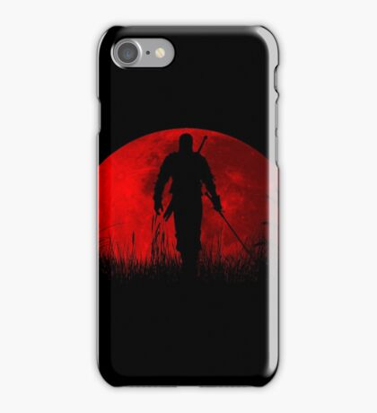 Red moon v2 iPhone Case/Skin