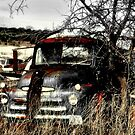 Ole Beater Truck ~ (BoneYard Series) by Carla Jensen