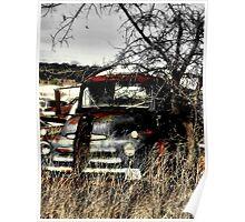 Ole Beater Truck ~ (BoneYard Series) Poster