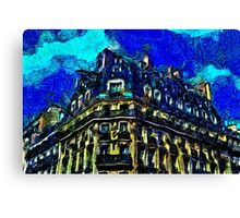 Barcelona Building Fine Art Print Canvas Print