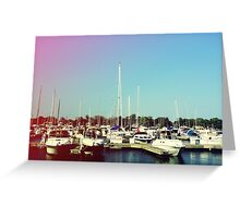 Boats V Greeting Card