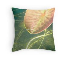 Another world, another view Throw Pillow