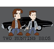 Two Hunting Bros Photographic Print