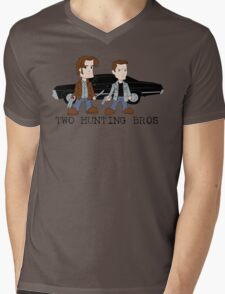 Two Hunting Bros Mens V-Neck T-Shirt