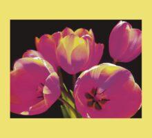 Colours Tulips Kids Tee