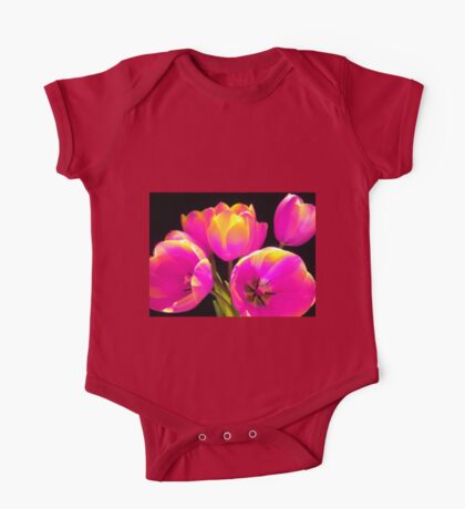Colours Tulips One Piece - Short Sleeve