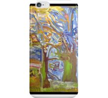elf-tree my painting Fauve iPhone Case/Skin