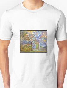 elf-tree my painting Fauve T-Shirt