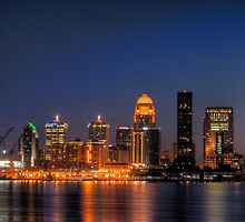 Hdr louisville skyline by Brad Denny Photography