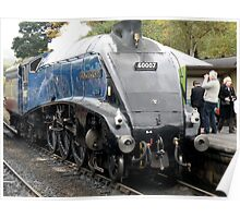 A4 at Grosmont Poster