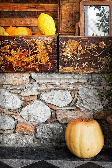 Sicilian lemon and pumpkin by Silvia Ganora