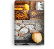 Sicilian lemon and pumpkin Metal Print