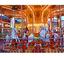 """Empty Carousel"" Photographic Print"