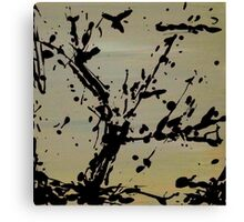 Abstract Toxic Event Canvas Print