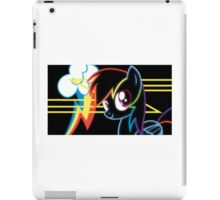 Neon-Rainbow Dash iPad Case/Skin