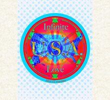 Infinite Love Series-USA mandala of Love Hoodie