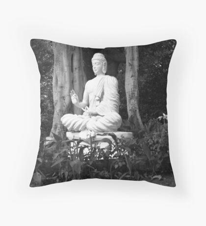 the Buddha - Pune , India Throw Pillow