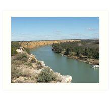 River Murray  Art Print