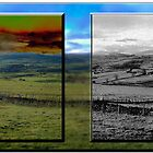 A panel- Towards Snowdonia by Kelvin Hughes