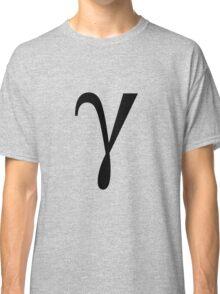 Gamma. Greek alphabet. Classic T-Shirt