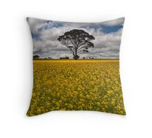 Fields of Gold - Western Australia Throw Pillow
