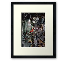 Pipes,Levers & Things. Framed Print