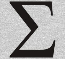 Sigma. Greek alphabet. by 2monthsoff