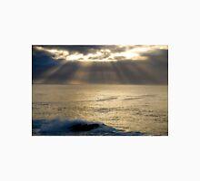 light burst, ocean sunrise Unisex T-Shirt
