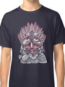 """Pueo"" Multidimensional Owl Classic T-Shirt"